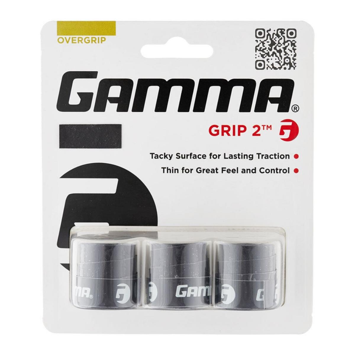 Black Gamma Grip 2 Overgrips