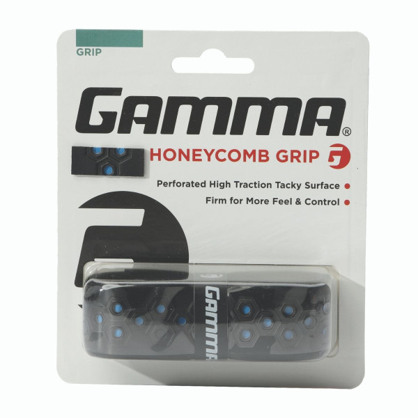 Blue Honeycomb Grip in packaging.