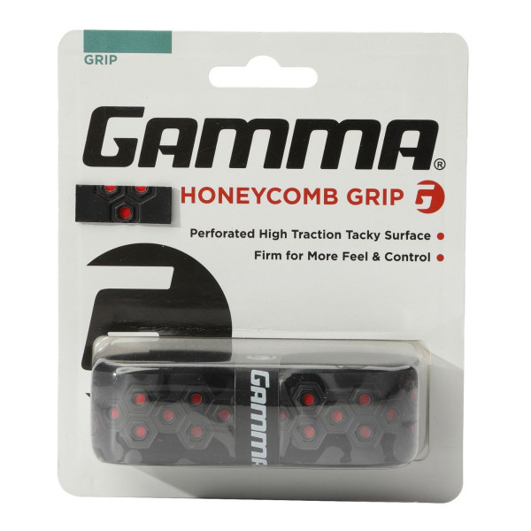 Red Honeycomb Grip in packaging.