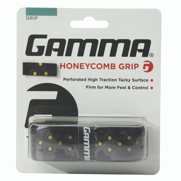 Yellow Honeycomb Grip in packaging.