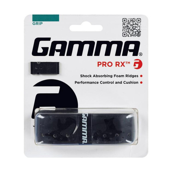 GAMMA Pro RX Grip. Cushioned Grip. Color Black.