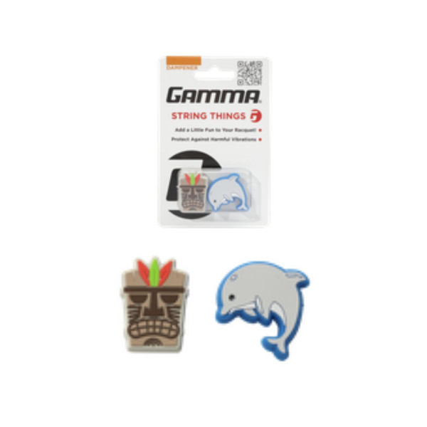 Mask and Dolphin String Things Dampener - GAMMA Sports