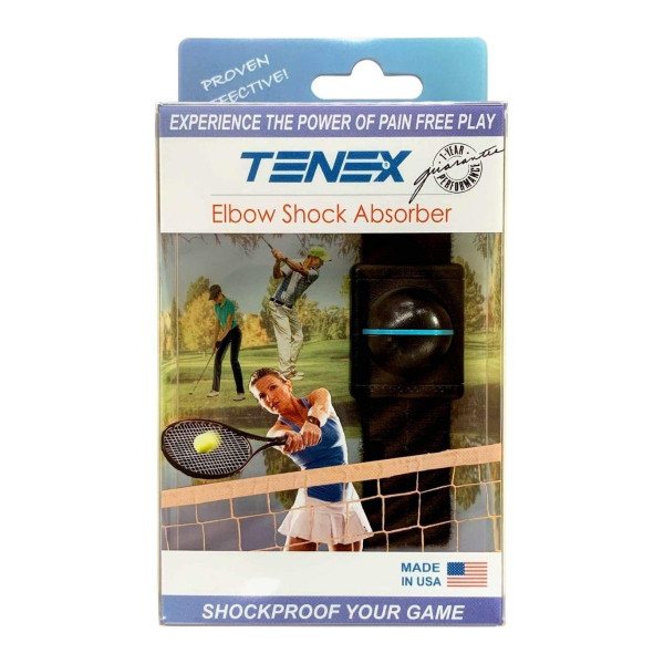 Tenex Elbow Shock Absorber in Packaging.