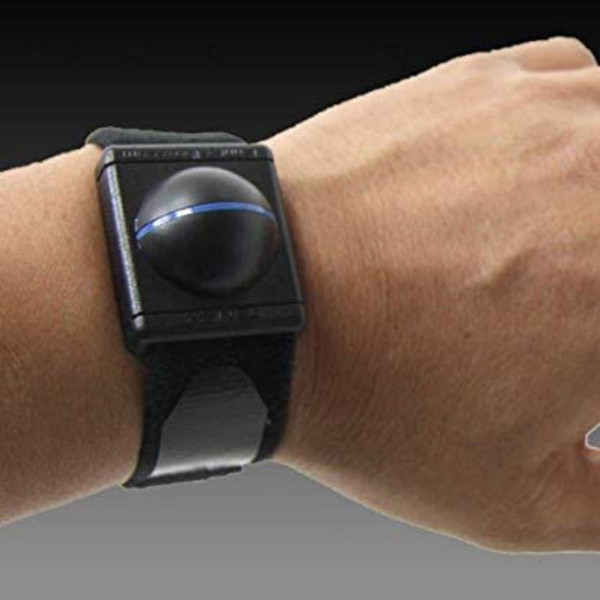 Tenex Elbow Shock Watch on person's wrist.