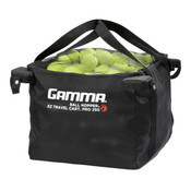EZ Travel Cart™ Bag - ball hopper bag filled with tennis balls.