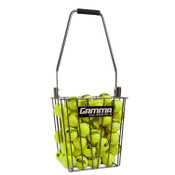 Ball Hopper Pro 90 filled with tennis balls.