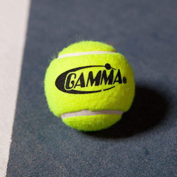 Yellow GAMMA Presurekess Tennis Ball