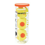60 Orange Dot Tennis Ball 3 Pack