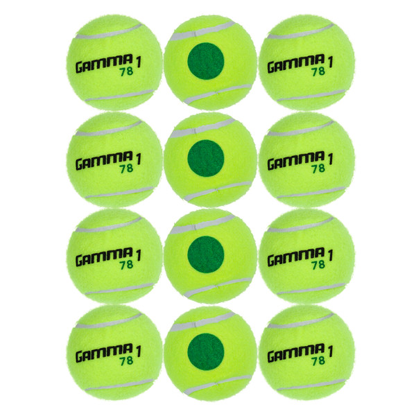 78 Green Dot Tennis Ball - 12 Balls