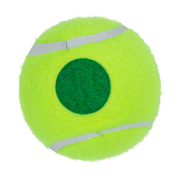 GAMMA Green Dot Tennis Ball for Kids Ages 11 and Older.