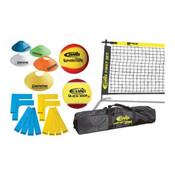 GAMMA First Set Kit Items: Court Marker Lines, Net, Balls, Disc Cones & Bag