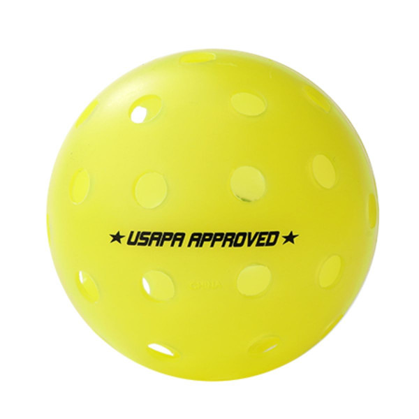 USAPA Approved logo on Outdoor Ball
