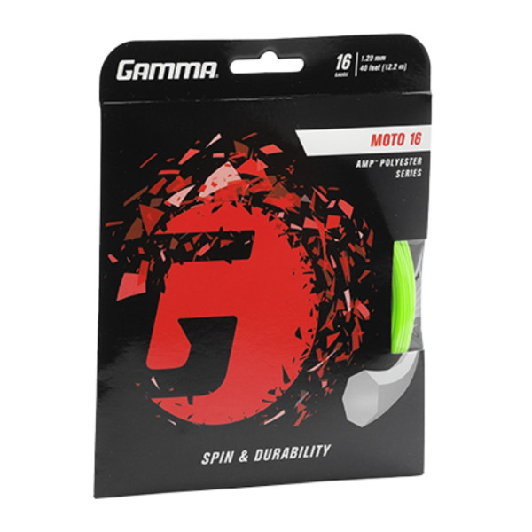 GAMMA Moto Lime 16G Front Packaging