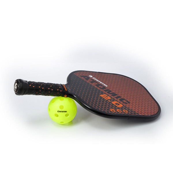 Atomic 2.0 Placed on a Pickleball
