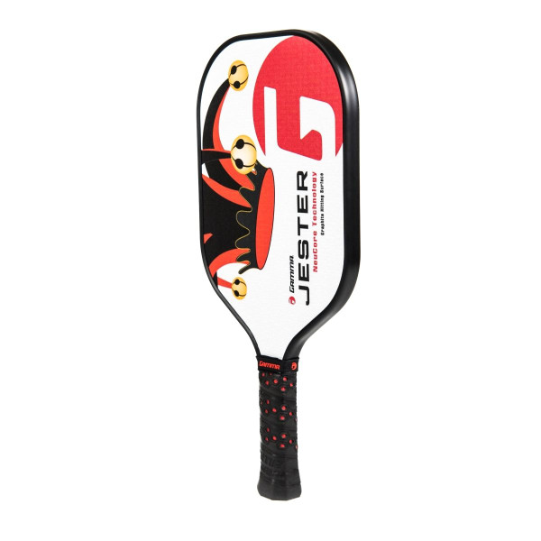 Red Jester Pickleball Paddle angled left