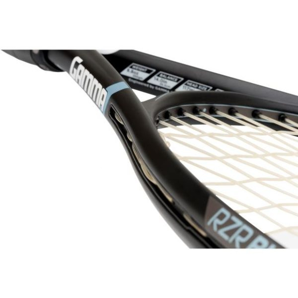 GAMMA RZR Bubba 117 Tennis Racquet Cross Section