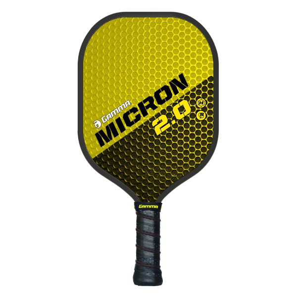 Yellow & Black GAMMA Micron 2.0 Pickleball Paddle