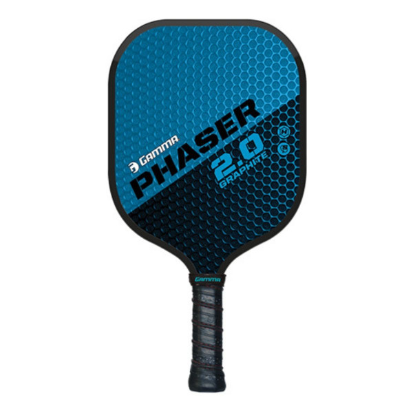 Blue and Black GAMMA Phaser 2.0 Pickleball Paddle